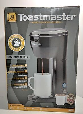 Toastmaster Single Serve Coffee Brewer K Cup Or Ground Coffee Ws2