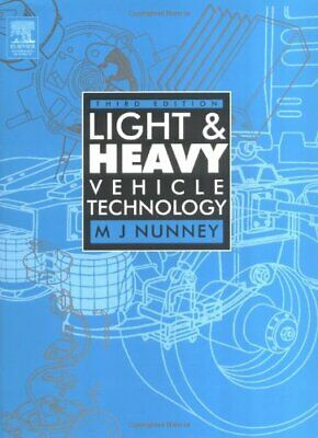 Light and Heavy Vehicle Technology by Nunney, M J Paperback Book The Cheap Fast