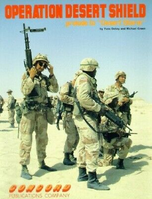 Desert Storm Shield Fact Book With Map And Patch 1544 Picclick Uk