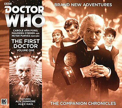 The First Doctor Companion Chronicles Box Set (Doctor Who) by Simon Guerrier The