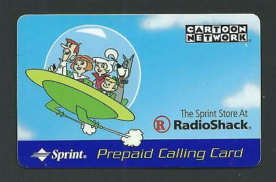 THE JETSONS FAMILY OUTING Cartoon Network Sprint RadioShack Prepaid Calling Card