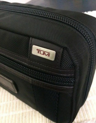 Tumi Alpha Bravo (FREE MONOGRAMMING) Riley Toiletry Travel Accessory Kit