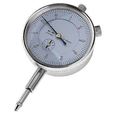 Metric Dial Outer Lever Indicator Accurate Clock Gage 0-10MM Measuring Tool