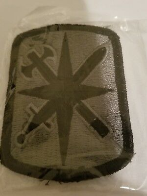 Authentic  Ocp Hook And Loop 14Th Mp Military Police Brigade