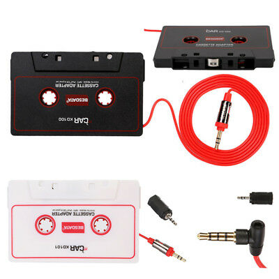 Audio AUX Car Cassette Adapter Converter Tape for iPhone iPod CD Stereo MP3 CD