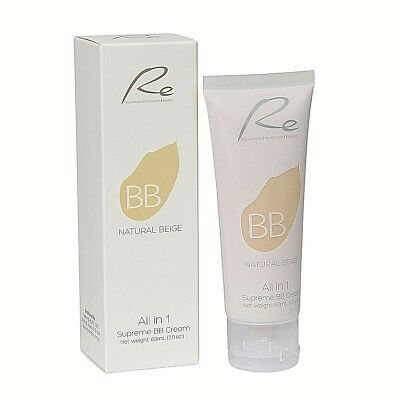 Re All in 1 Supreme BB Cream_Skin Care & Makeup Benefits_Natural Beige - 60mL