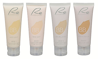 Re All in 1 Supreme BB Cream_Skin Care & Makeup Benefits_Four Shades - 60mL