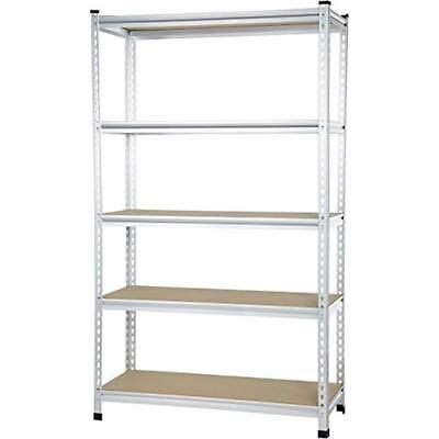 Medium Duty Shelving Double-Post Press Board Shelf 48 X 18 72