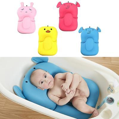 Newborn Anti Slip Sponge Foam Pad Baby Bath Tub Bathing Infant Shower New