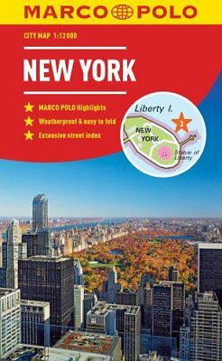 New York Marco Polo City Map 2018 - pocket size, easy fold, New... 9783829759175