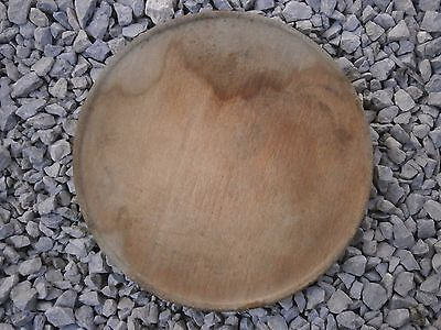 Old Rare Antique Wooden Plate