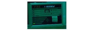 Autronica BS-100 Fire Alarm Control Panel, reconditioned