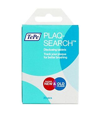 Plaqsearch Advanced Disclosing Chew Tablets - Pack of 20 Tablets