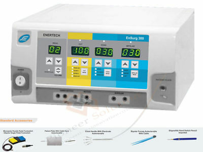 300W Frequency Electrosurgical Unit Cautery Diathrmy Machine wid Foot Switch UU7