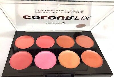 Technic 8 Colour Fix Pressed Powder Blushers Contour Palette Make Up Kit 268024