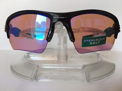 1739f4828f9 NEW OAKLEY Men s ~FLAK 2.0 XL PRIZM GOLF~ Sunglasses OO9188-7059 Polished  Black