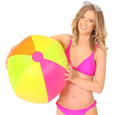 Giant Inflatable Beach Ball Summer Pool Party Festival Fancy Dress Hawaiian Lot