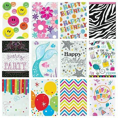 20 Party Cellophane Bags Loot Gift Food Bag Printed Treat Sweet Cello Pattern