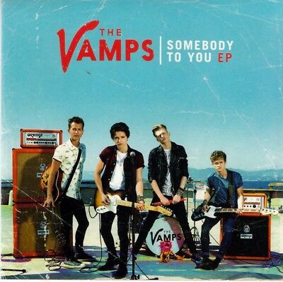 Vamps, The - Somebody to You [EP] (CD, 2014, Island) - Demi Lovato, Pop, Rock