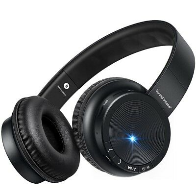 Sound Intone P30 Wireless Bluetooth Headphone TF Card Stereo Bass Headset with M
