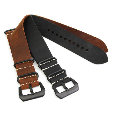 Replacement Leather Soft Watch Strap Band for Garmin Fenix 3