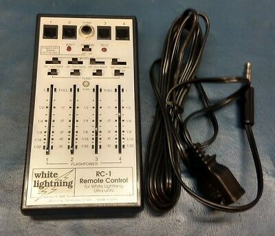 White Lightning RC-1 Wired Remote Control Ultra 600, Ultra 1200, Ultra 1800