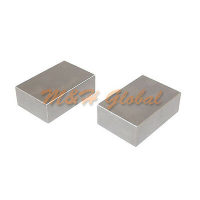 NEW 2 PC Precision 1-2-3 Blocks with NO Hole FREE SHIPPING!!!