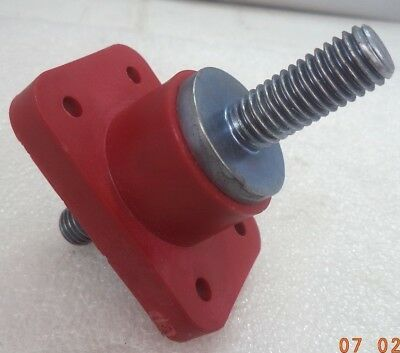 EATON-Bussmann® 400A FEED-THRU SINGLE STUD  RED 1/2-13 JUNCTION BLOCK, P/N C1925