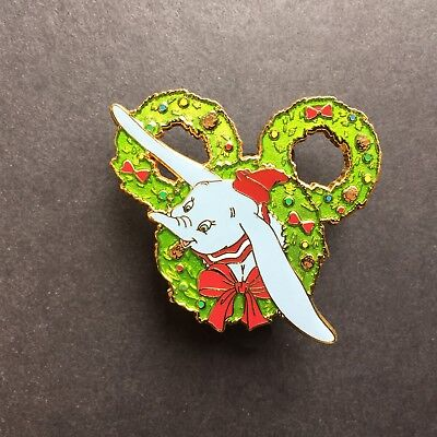 Happy Holidays Wreath Collection Mystery Dumbo Chaser LE 500 Disney Pin 106373