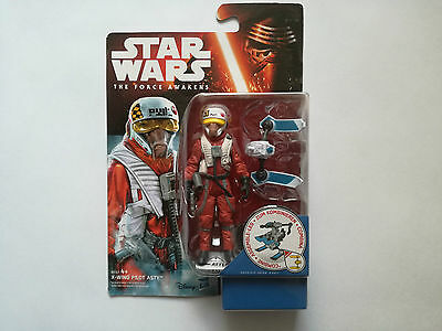 Star Wars The Force Awakens X-WING PILOT ASTY B4167 4+ Actionfigur