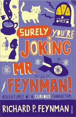 Feynman,r-Surely You`re Joking Mr Feynman  Book New