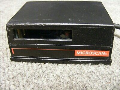 MicroScan MS-710 Industrial Bar Code Scanner Cat # FIS-0710-0023 RS-232 Connect
