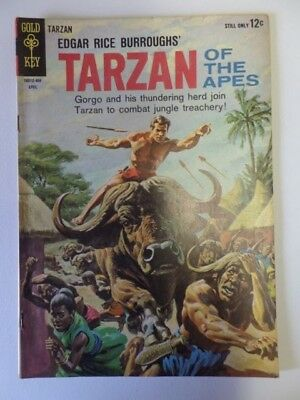 Gold Key Comics Edgar Rice Burroughs' TARZAN OF THE APES No. 141 April 1964