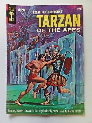 Gold Key Comics Edgar Rice Burroughs' TARZAN OF THE APES No.148 April 1965