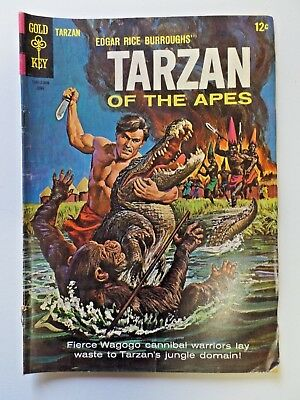 Gold Key Comics Edgar Rice Burroughs' TARZAN OF THE APES No.150 June 1965