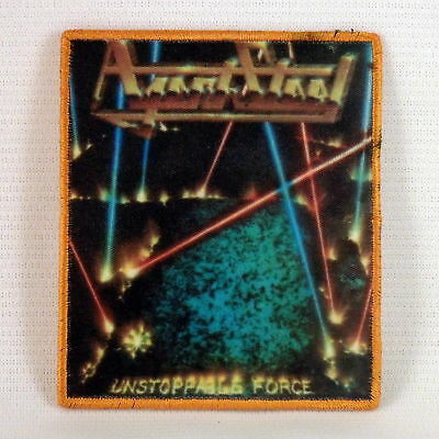 AGENT STEEL Unstoppable Force (Printed Small Patch) (NEW)
