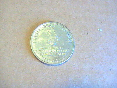 Token Chrystal Bright Car Wash Token Mesa Arizona Non Refundable