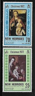 New Hebrides British 1972 Christmas Adoration of Magi Virgin and Child MNH A1131