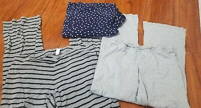 Old Navy Motherhood Maternity Pajama Pants Size medium lot