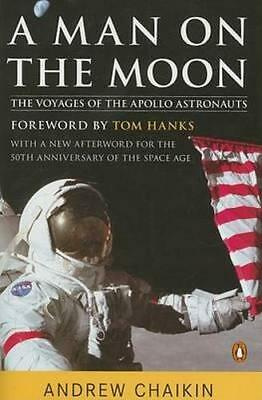 NEW A Man on the Moon By Andrew Chaikin Paperback Free Shipping