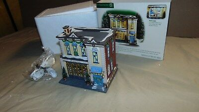 Dept. 56 Christmas In The City 58950 5Th Avenue Saloon In Original Box