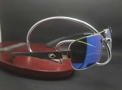 cb5f21450870 Costa Del Mar Tower TO-21 Pladum frame Blue mirror 580G Glass lens polarized