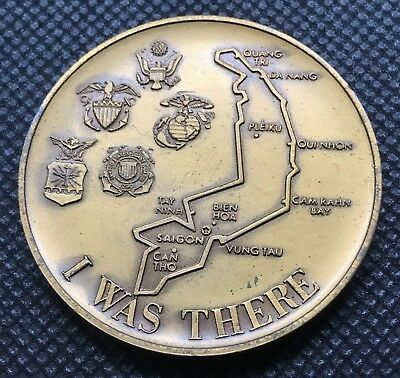 Republic Of Vietnam 1969 I Was There Coin