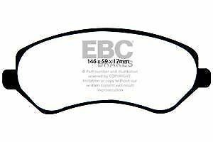 DP1612 EBC Ultimax Front Brake Pads fit Grand Voyager Voyager Cherokee