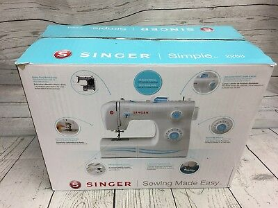 SINGER SIMPLE 40STITCH Sewing Machine 40 4040 PicClick Cool Singer Zigzag Sewing Machine 2263