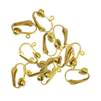 Clip-on Earring Converter Turn Any Post or Stud Into a Clip-on Earring 12pcs