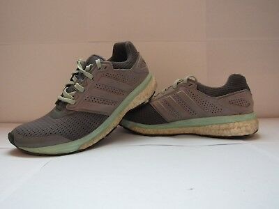 9ecfce2af Women s Adidas Supernova GlideBoost 7 Running Shoes with Techfit (Grey and  mint)