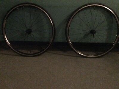New Shimano RS 010 wheelset with new Continental tyres and new tubes. Bike parts