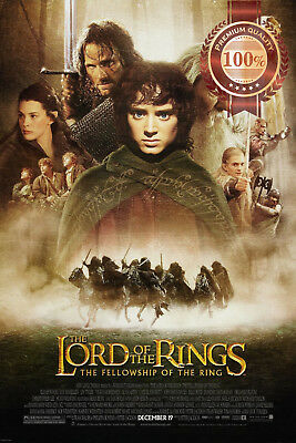 New The Lord Of The Rings Fellowship Of The Ring Movie Film Print Premium Poster