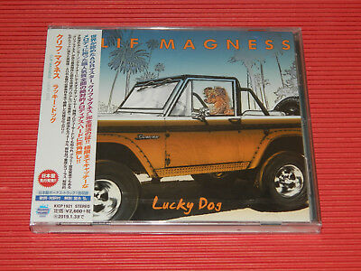 2018 Japan Cd Clif Magness Lucky Dog With Bonus Track For Japan Only